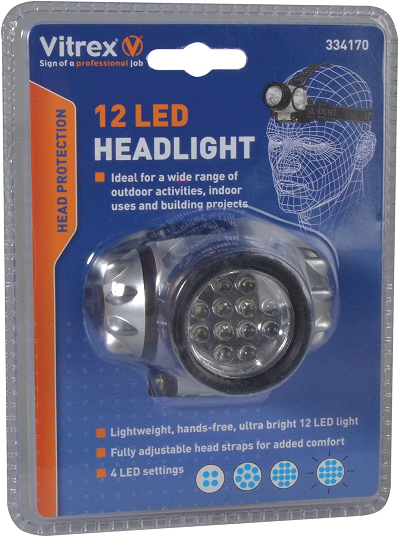 Bgs 85314/Lampe frontale LED COB