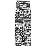 Plus Size Womens Floral Print ladies Wide Leg Palazzo Trousers Pants - 16-26