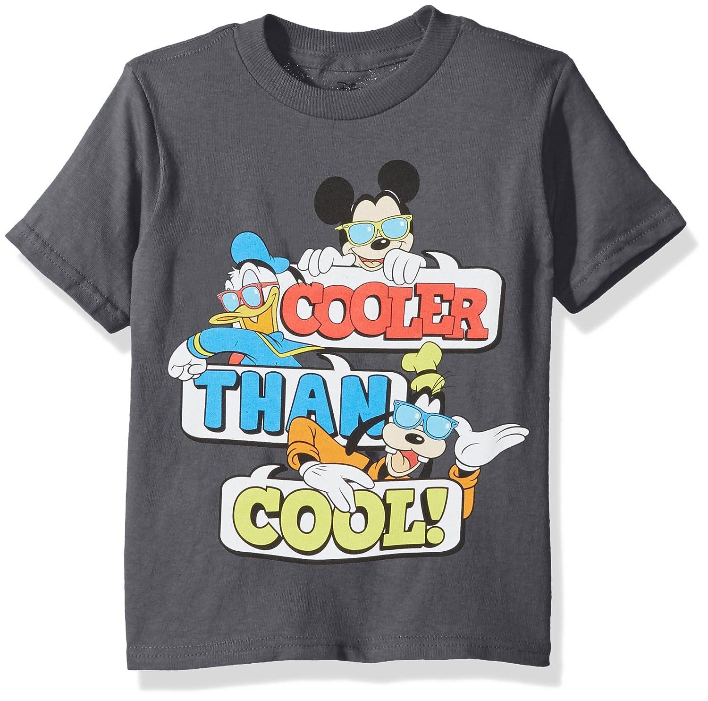 Disney Boys Mickey Mouse Short Sleeve T-Shirt