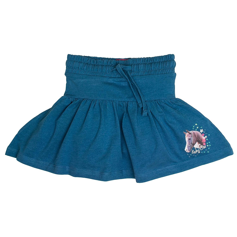 Salt /& Pepper Skirt Horses with Pant Gonna Bambina
