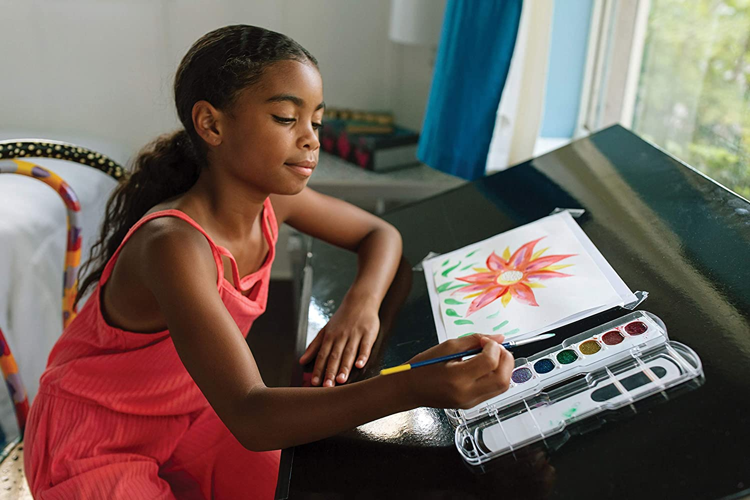 """UCreate Watercolor Paper, White, Package, 90lb., 12"""" x 18"""", 50 Sheets : Childrens Watercolor Paper : Industrial & Scientific"""