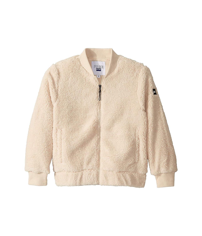 Cotton On Girls Free Teddy Bomber Jacket Big Kids