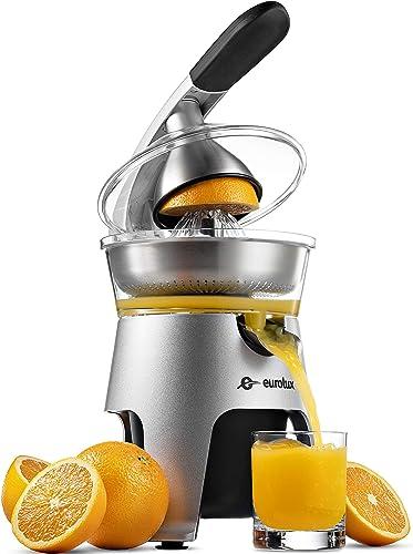Eurolux Die-Cast Stainless Steel Electric Citrus Juicer