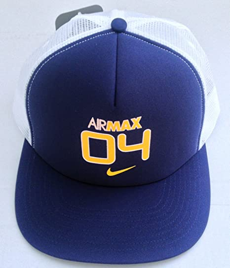 Nike Airmax 04 Adulto Unisex ala Plana Gorra Trucker Cap Sombrero ...