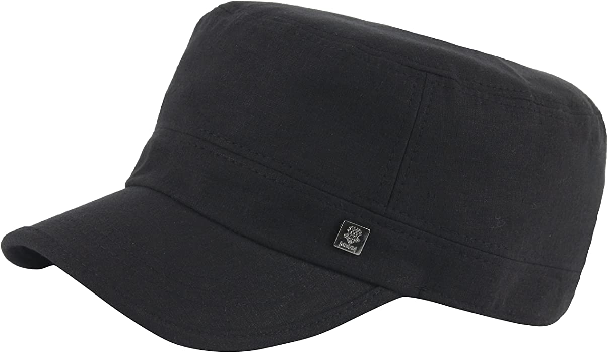 2a114c2fc13 A216 Empty Plain Simple Logo Cool Linen Urban Army Cap Golf Club Cadet  Military