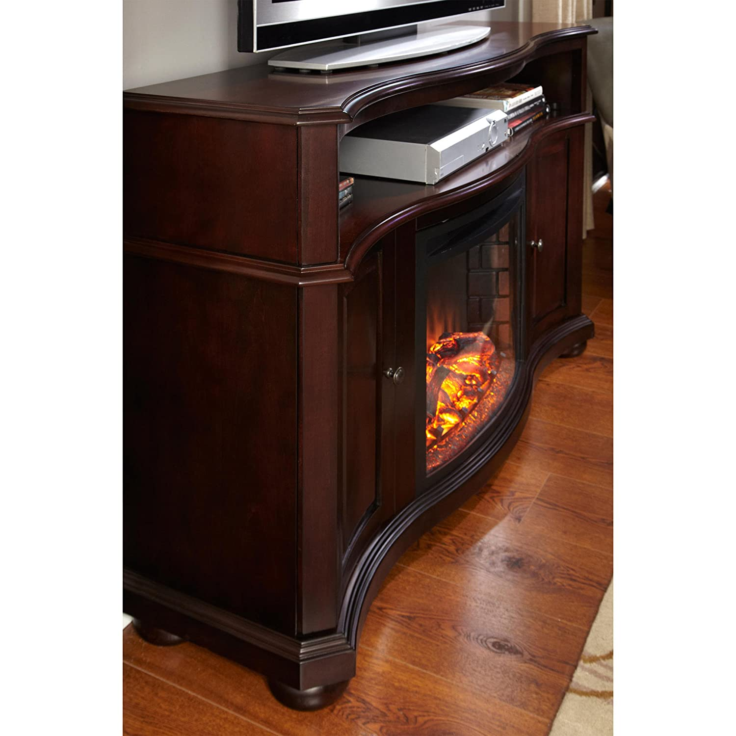 Pleasant Hearth™ Merrill Electric Fireplace and Media Console