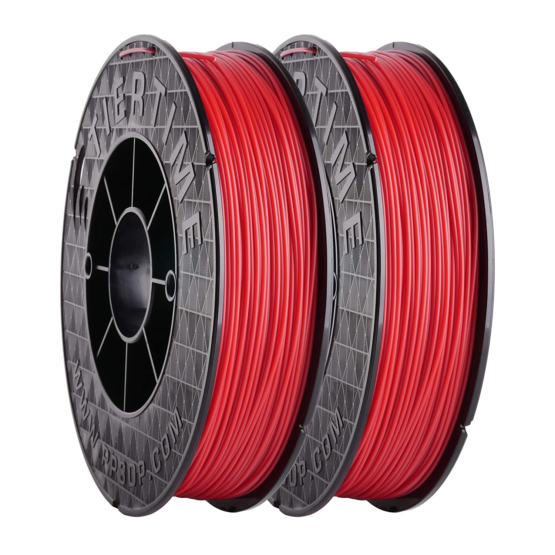 Hasta fila C-21 - 03 plástico ABS Filamento, rojo, 2 x 500 g Rolls ...