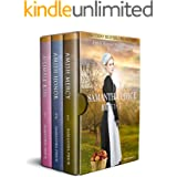 The Amish Bonnet Sisters series: Books 1 - 3 (Amish Mercy, Amish Honor, A Simple Kiss): Amish Romance (The Amish Bonnet Siste