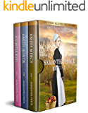 The Amish Bonnet Sisters series: Books 1 - 3 (Amish Mercy, Amish Honor, A Simple Kiss): Amish Romance (The Amish Bonnet…
