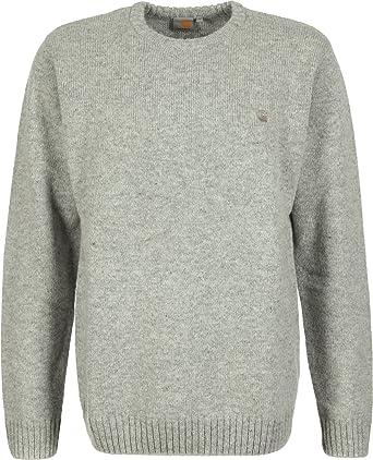 Carhartt University Sweater L grey heathergrey: