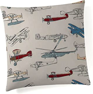 product image for Glenna Jean Fly-by Pillow, Airplane Print