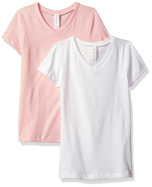 dc1c32728 Amazon.com: Clementine Girls' Unisex Baby Boy Everyday Short Sleeve Toddler  T-Shirts Crew 2-Pack: Clothing