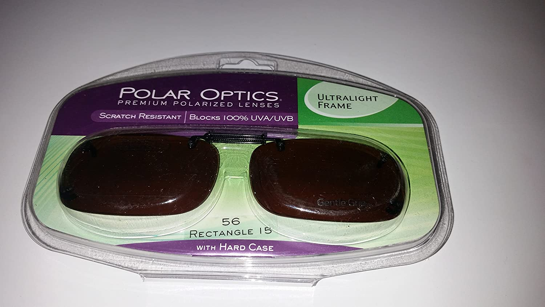 6a117e6892884 Amazon.com  Polar Optics 56 Rec 15 Ultralight Frame Driving Lenses with  Hard Case  Health   Personal Care