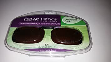 d437dfcf09 Image Unavailable. Image not available for. Color  Polar Optics 56 Rec 15  Ultralight Frame Driving Lenses ...