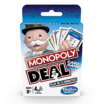 Hasbro Juego de Cartas Monopoly Deal Gaming: Amazon.es ...
