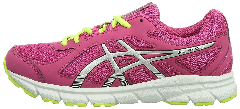 Asics Running Gel-Xalion 2 GS Scarpe Sportive, Unisex Bambino, Rosa (Pink (RASPBERRY/SILVER/RASPBERRY 2193)), 39,5 (5.5 UK)
