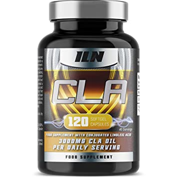 Iron Labs Nutrition Cla 3000mg X 40 Servings Food Supplement With Conjugated Linoleic Acid 120 Cla Capsules