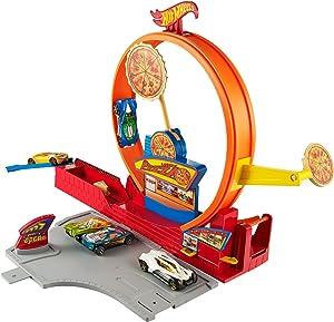 Hot Wheels Pizza City Track Set
