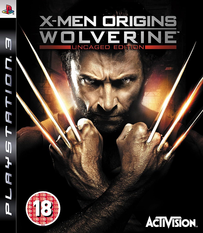 X-Men Origins: Wolverine - Uncaged Edition (PS3): Amazon.co.uk: PC & Video  Games