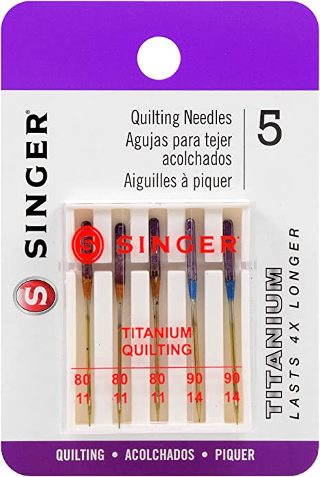 Singer Sewing Machine Assorted Quilting and Patchwork Needles Fit Other Brands