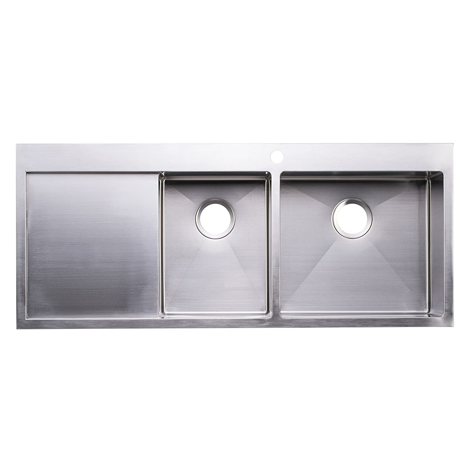 undermount sinks luxury inch z stainless ks gauge kitchen handmadekitchensinks cupc x steel sink bowl handmade radius zero single