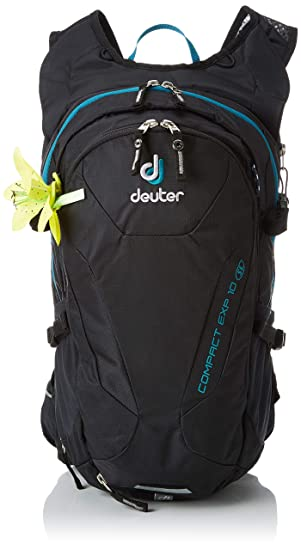 Deuter Compact EXP 10 SL, Mochila Unisex Adulto, Negro (Black), 24x36x45 cm (W x H x L): Amazon.es: Zapatos y complementos