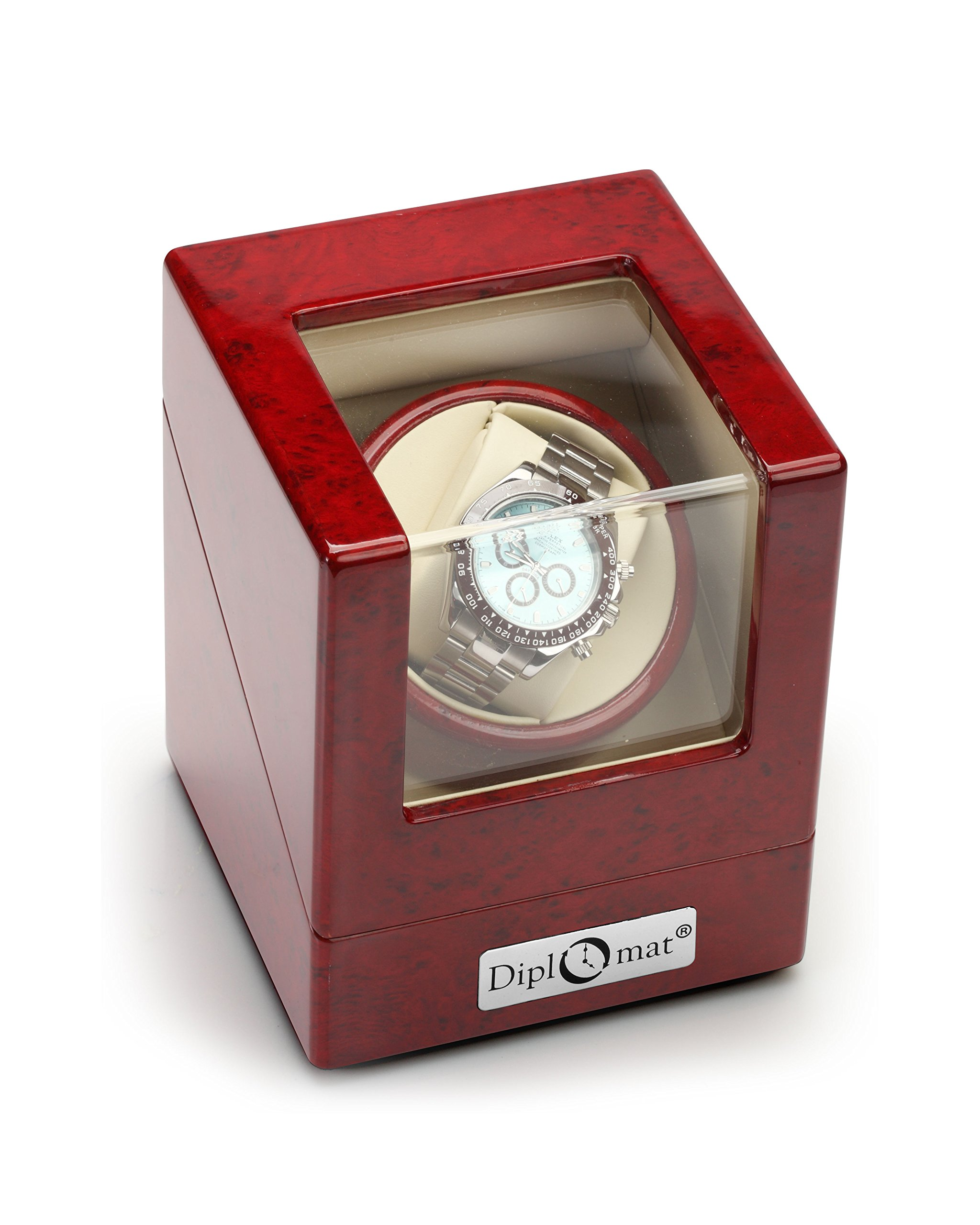 Diplomat 31-405 Cherry Wood Single Watch Winder