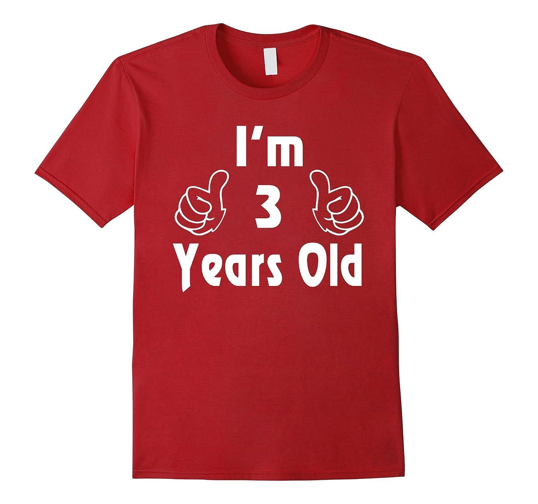 I Am Three 3 Years Old 3rd Birthday Gift Ideas Boy Girl Vaci