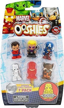 Bizak - Pack 7 ooshies Marvel Disney: Amazon.es: Juguetes y juegos