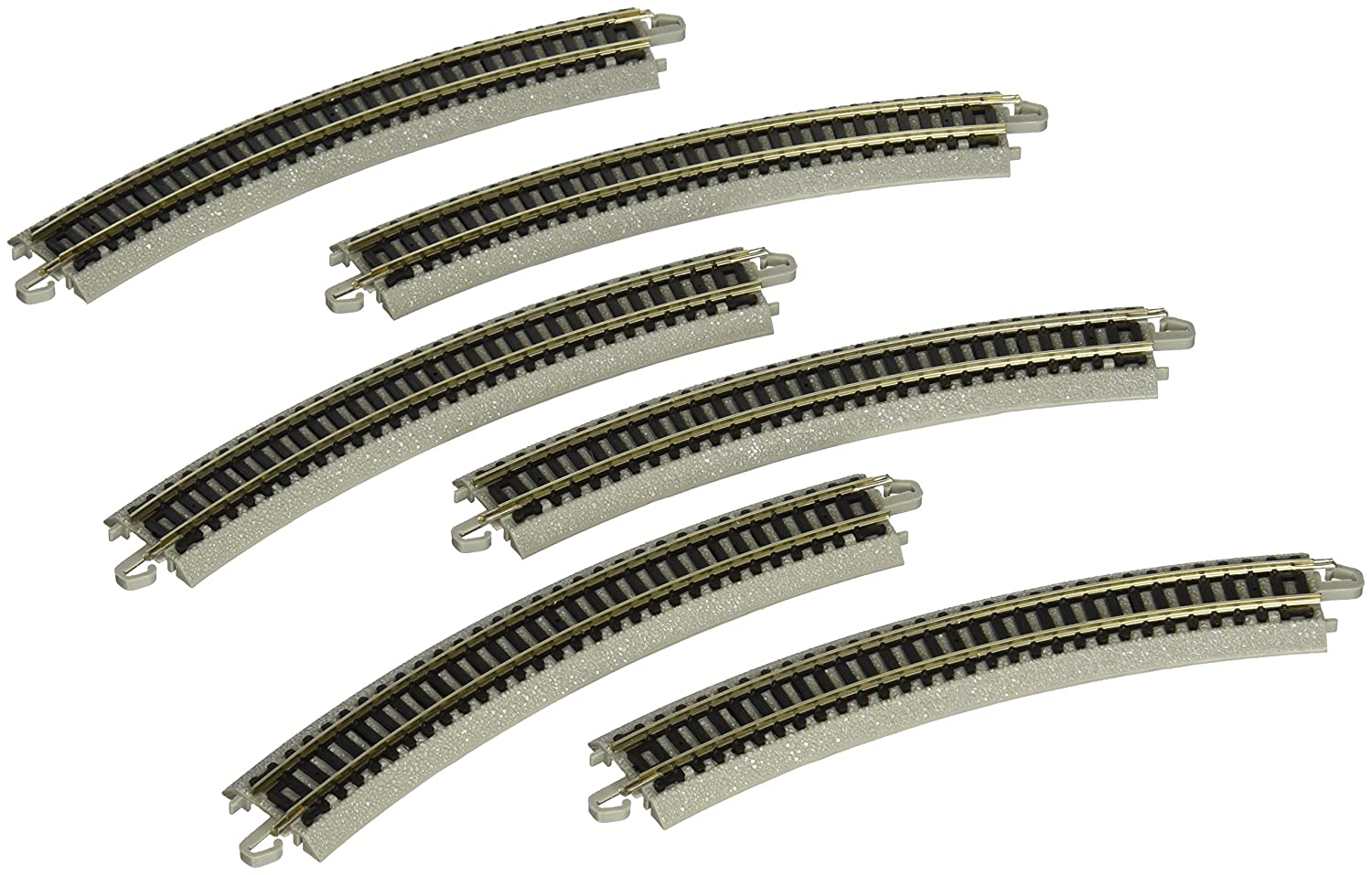 Bachmann 11.25 Radius Curved Track 6 Card N Scale