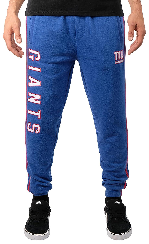 Team Color Stripe ICER Brands Adult Men Jogger Pants Active Basic Fleece Sweatpants Medium