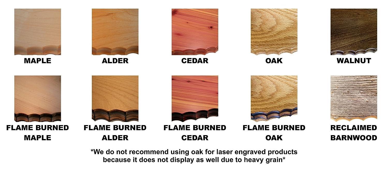 03 with laser Turkey Solid Cedar Turkey Fan Beard Mounting Kit
