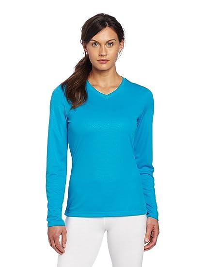 7c34953f5cfaa Amazon.com  ASICS Women s Ready Set Long Sleeve Top