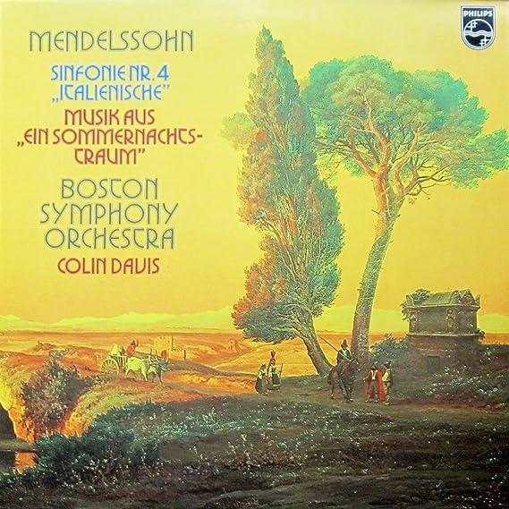 9500 068 Mendelssohn 4/Midsummer BSO Colin Davis