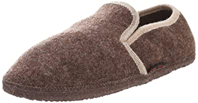 Giesswein Men's Andau Slip-On Loafer,Taupe,37 EU/6 ...
