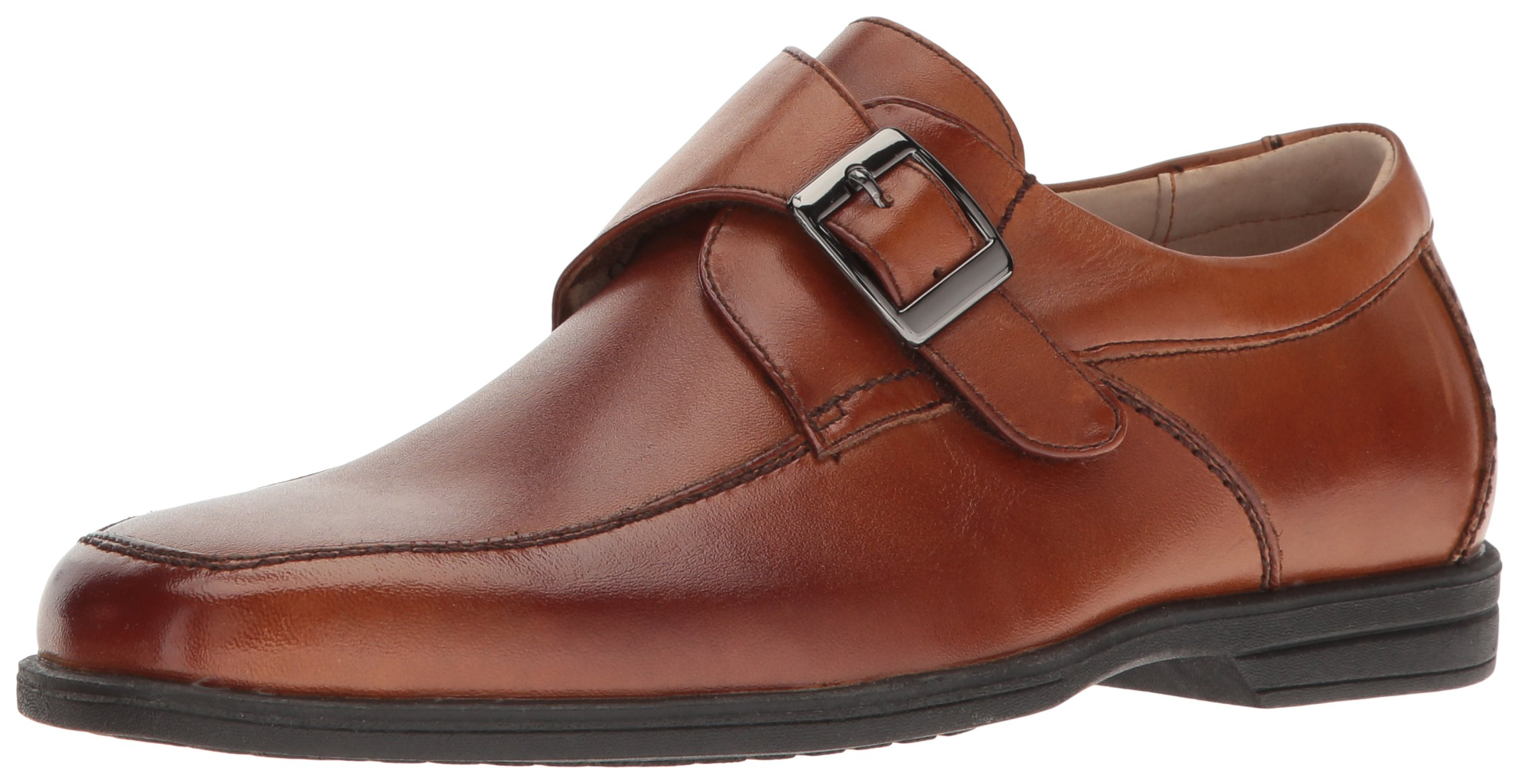 Florsheim Kids Reveal JR   Monk Strap Oxford (Little Kid/Big Kid), Cognac, 6 M US Big Kid