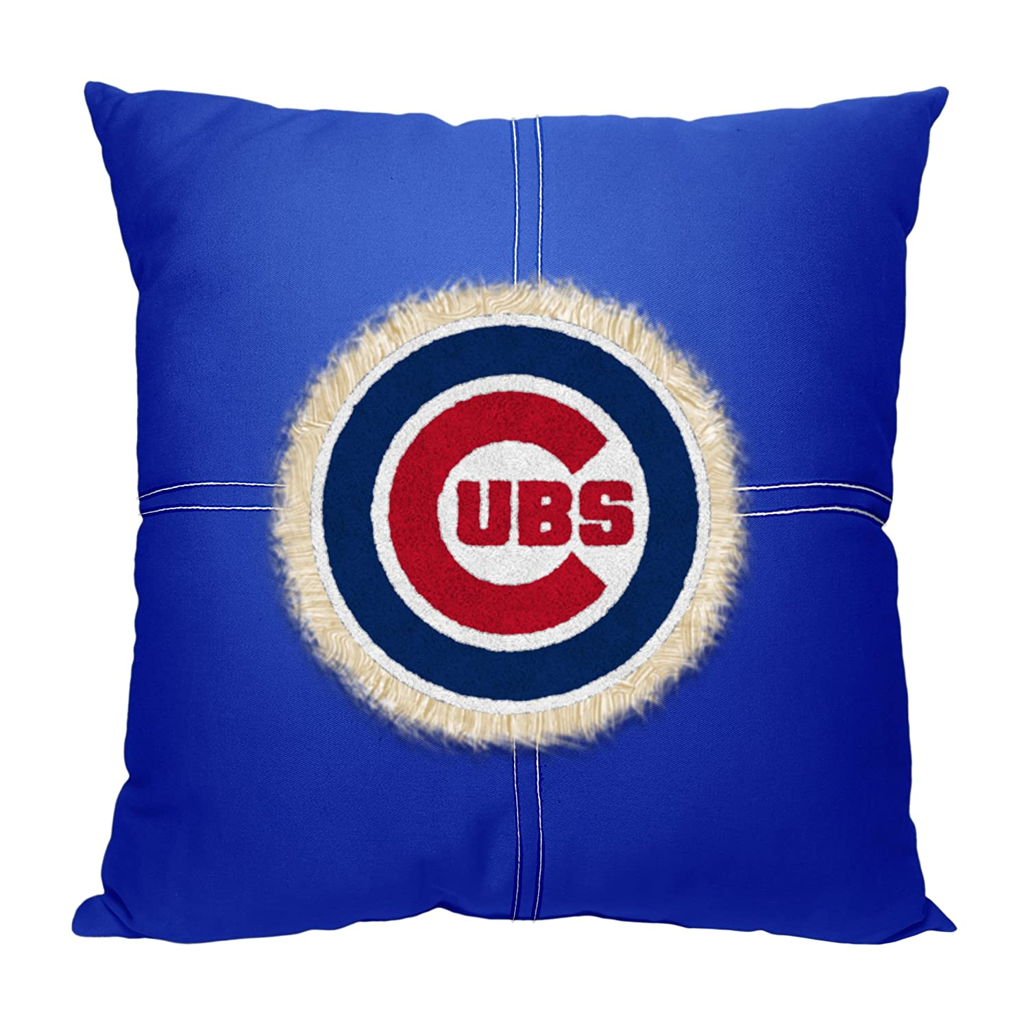 Officially Licensed MLB Decorative Letterman Pillow Soft Comfortable Throws Bedding 18 x 18