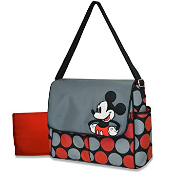 Amazon.com: Disney Messenger – Bolso cambiador, Mickey: Baby