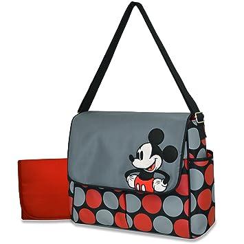 Amazon.com: Disney Messenger – Bolso cambiador, Mickey: Baby