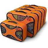 Shacke Pak - 5 Set Packing Cubes - Medium/Small – Luggage Packing Travel Organizers