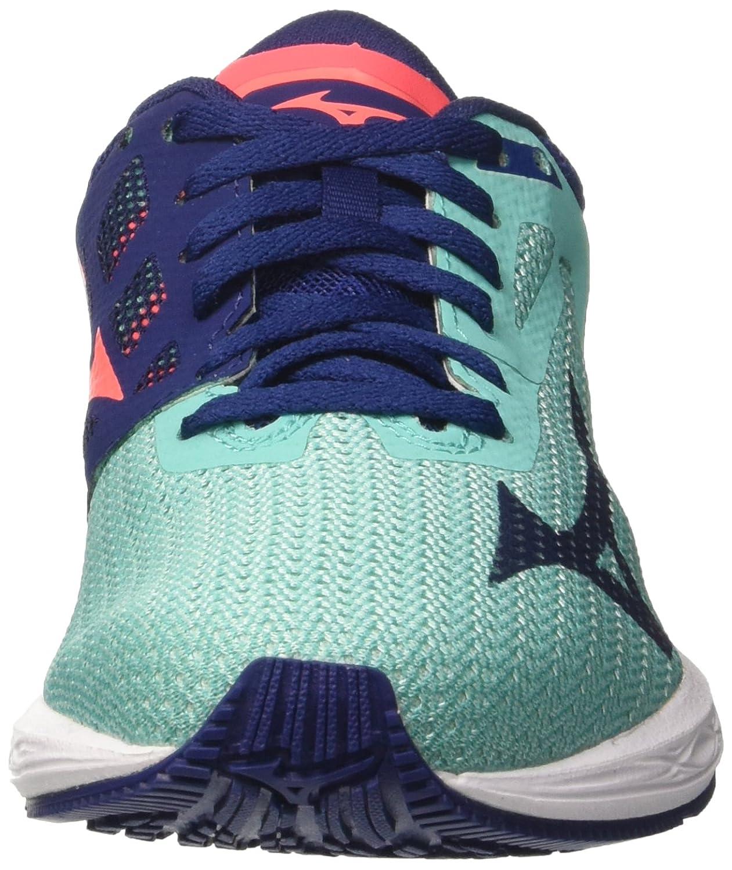 Mizuno Damen Wave Sonic WOS Laufschuhe, violett Mehrfarbig 17) (Turquoise/Blaudepths/Fierycoral 17) Mehrfarbig 5b7fd4