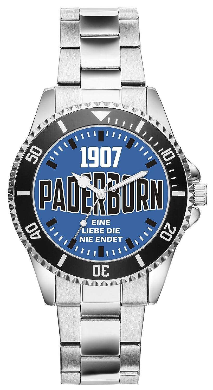 Geschenk 6094Uhren Uhr Fan Paderborn Artikel Idee u3cKlF1TJ