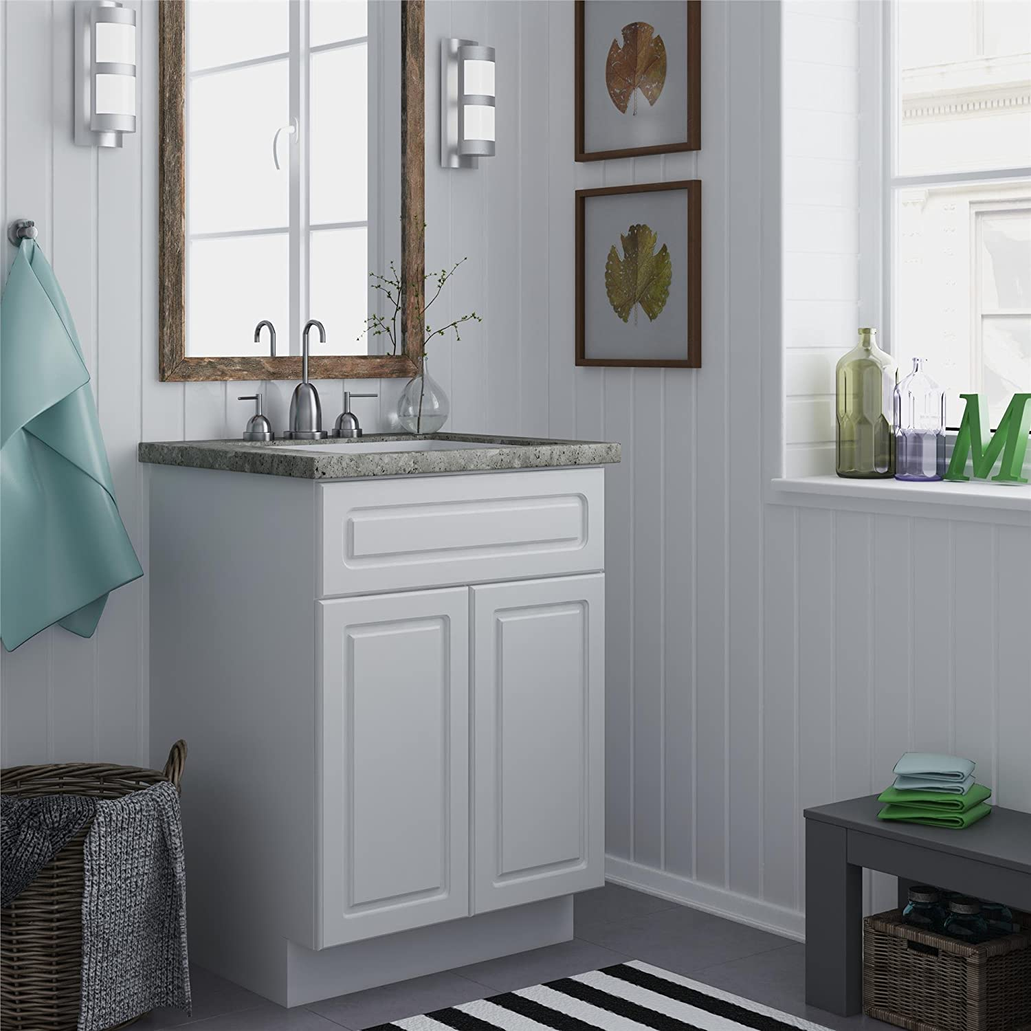 Amazon Ameriwood Heartland Cabinetry Keystone Bath Vanity