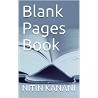 Blank Pages Book (English Edition)
