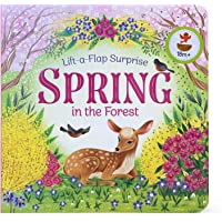 Spring in the Forest (Lift-a-flap Surprise) (Lift-A-Flap Surprise Pop-Up Board Books)