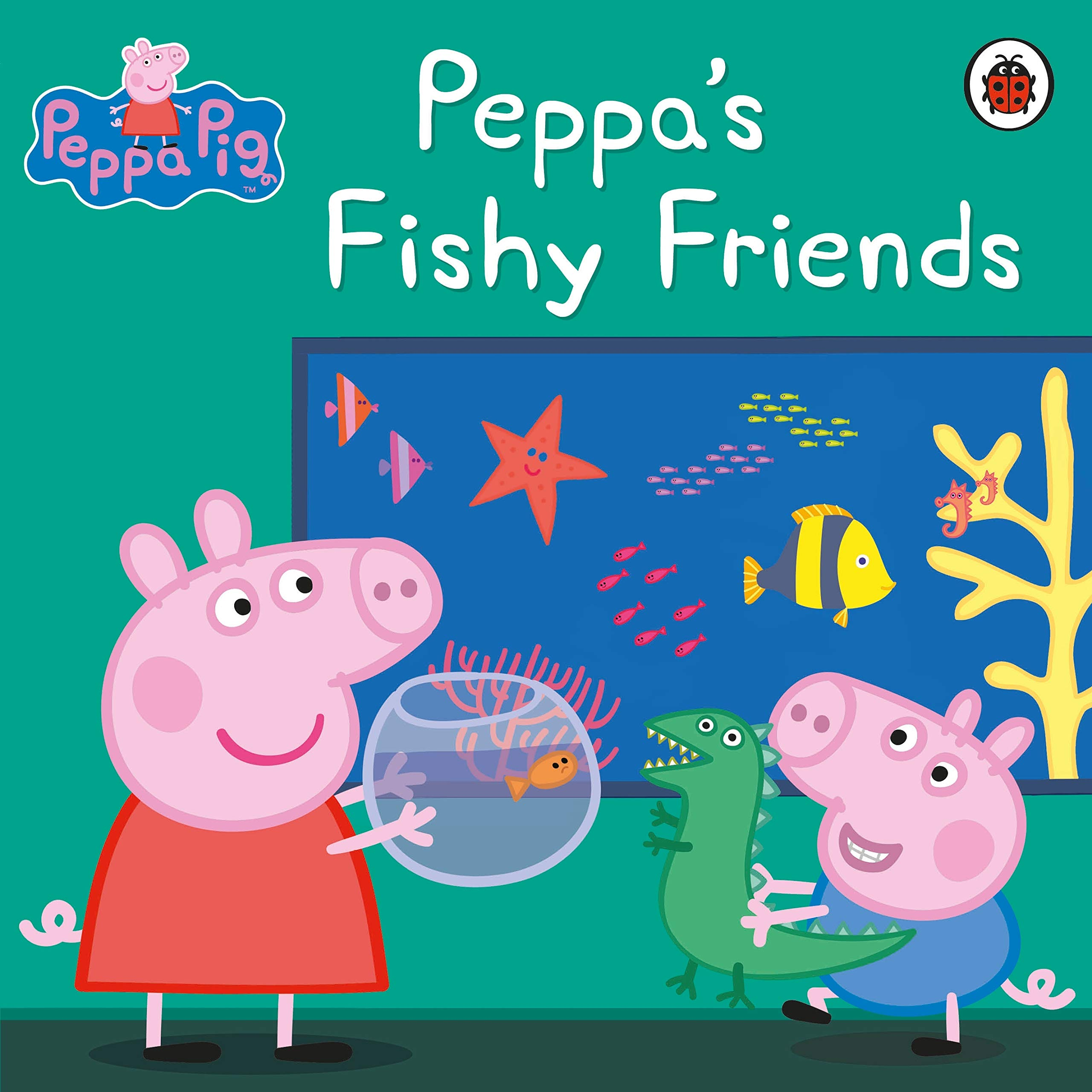 Peppa Pig: Peppa's Fishy Friends: Amazon.co.uk: Adapted By Mandy ...
