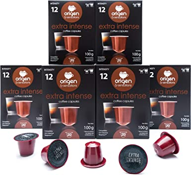 120 Cápsulas Nespresso Compatibles con Cafetera Nespresso - Cafe Extra Intense: Amazon.es: Alimentación y bebidas