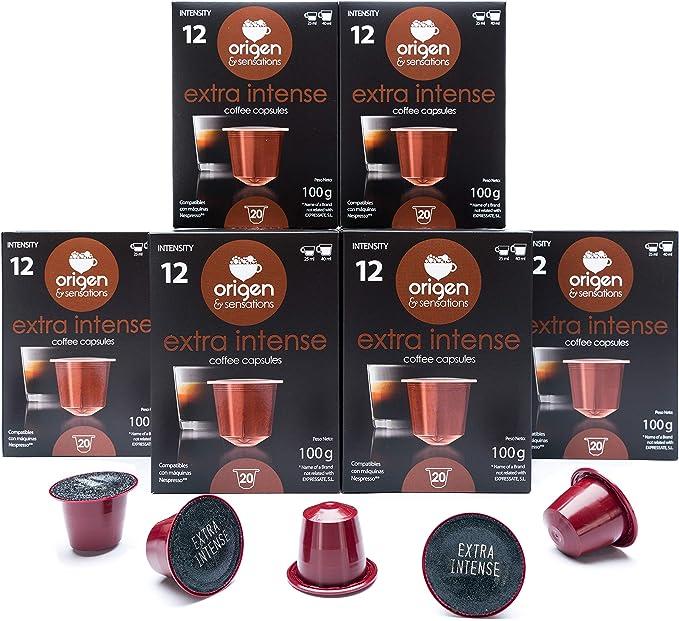 120 Cápsulas Nespresso Compatibles con Cafetera Nespresso - Cafe ...