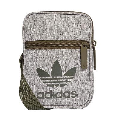587a915d264 Adidas Fest Bag Casual, Unisex Adults  Messenger Bag, Brown (Carnoc Blanco