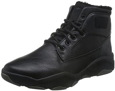 Skechers Ridge Fowler Men's Outdoor Boots Leather BLK, Pointure:EUR 43